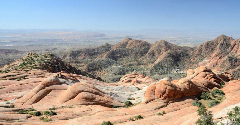 Die Candy Cliffs einfach umwerfend. Man kann den ganzen Tag darin herumwandern und immer wieder neue Perspektiven entdecken