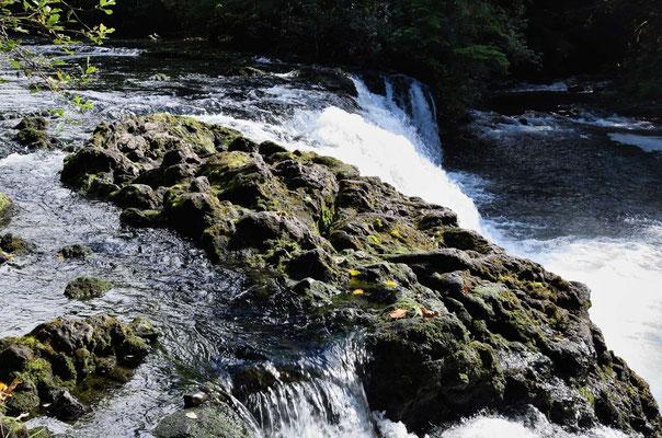 Über dir Lavastufen stüzen die Flüsse