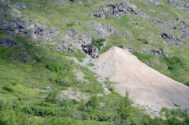 Alte Mine am Hatcher Pass