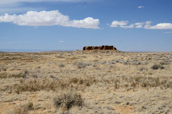 Pueblo Alta auf der Hochfläche
