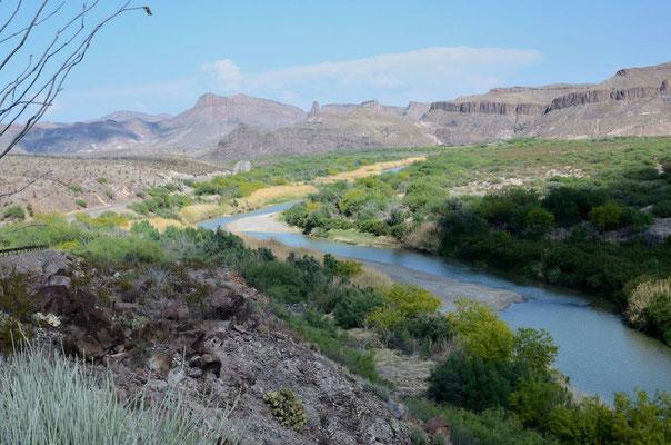 Den Rio Grande entlang bis Presidio
