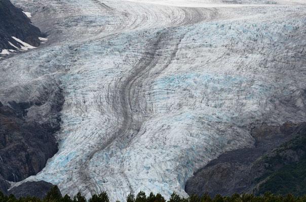 Der Exit-Glacier bei Seward
