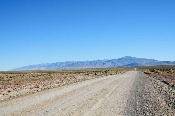 Nevada, noch mal kurz 100 Km Gravel