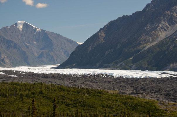 Der Matsuma-Gletscher