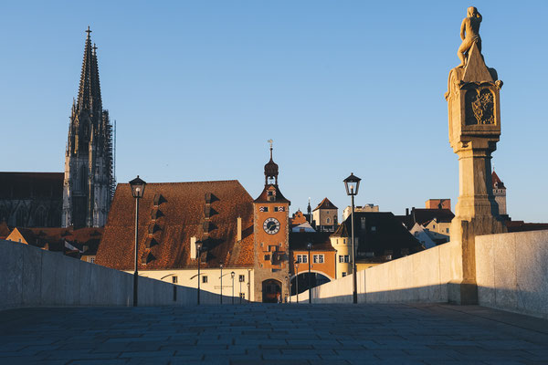 Regensburg - gleich zweifach UNESCO-Welterbe © Tourismusverband Ostbayern e.V., Foto: @well_outside