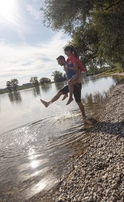 Die Donau bei Winzer © Tourismusverband Ostbayern e.V., Fotograf Stefan Gruber