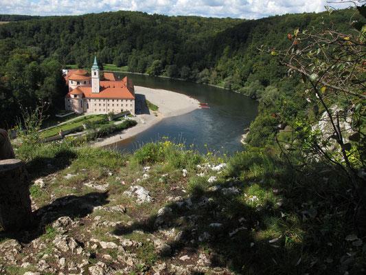 Blick zum Kloster Weltenburg, Foto: Michael Körner