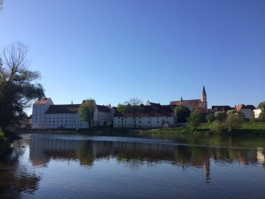 Das Herzogsschloss in Straubing © Stadt Straubing