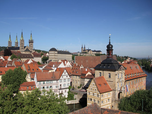UNESCO geschützte Altstadt Bambergs