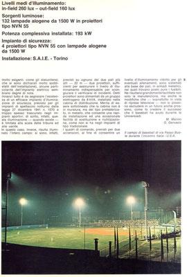 Il grande pubblico sugli spalti dello stadio di Torino per ITALIA - USA