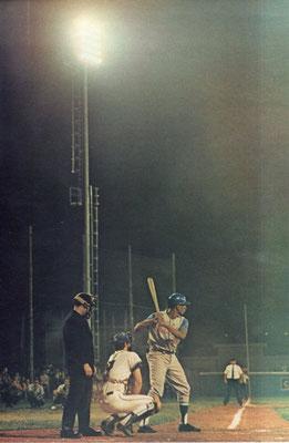 Una splendida immagine della partita USA - CUBA
