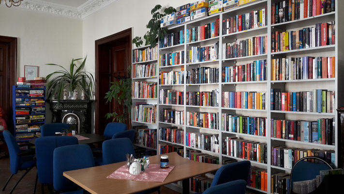 Lesecafé & Bücherfundgrube