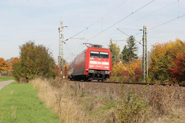 28.11.2016 IC 185 in Richtung Zürich, bei Herrenberg