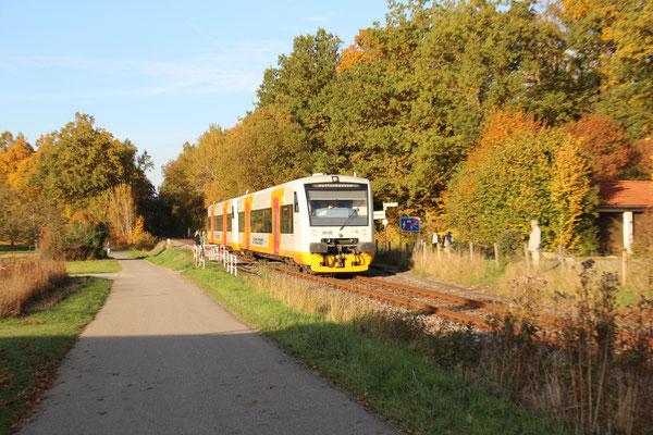 28.11.2016 WEG88766 in Richtung Dettenhausen, kurz vor Holzgerlingen Nord