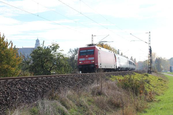 28.11.2016 IC 280 in Richtung Stuttgart, bei Herrenberg