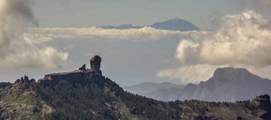 Fernsicht vom Pico de la Nieves