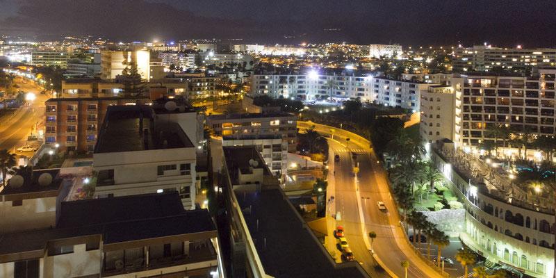 Maspalomas bei Nacht