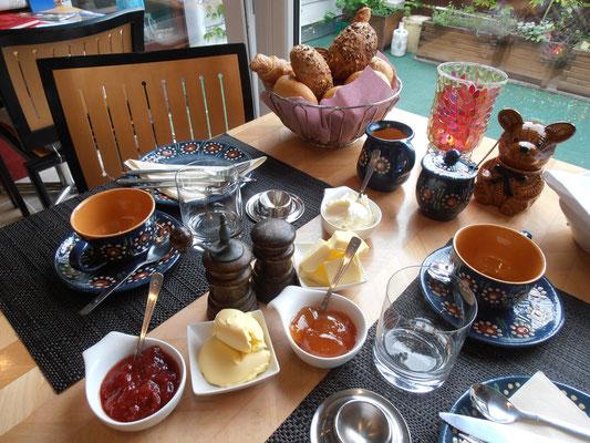Der Frühstückstisch