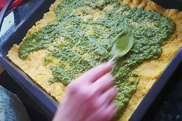 Rucola-Basilikum-Pesto