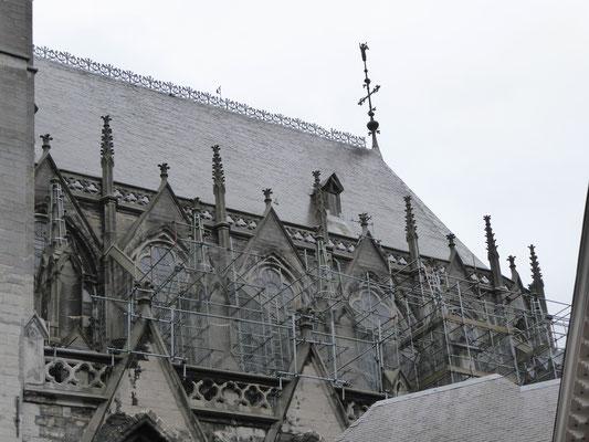 Doornik - Onze-Lieve-Vrouwe Kathedraal - Gotisch Koor  Foto: 190303.