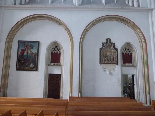 Stevenskerk - Toegang tot de Heilig-Grafkapel - Epitaaf Jan de Bon