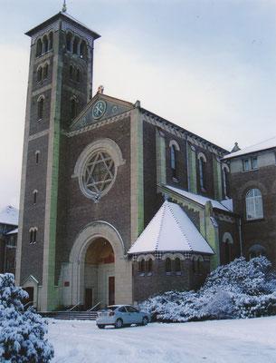 NEBO Gerardus-Majellakerk. Foto: Thea-Warrior, 29 januari 2004.