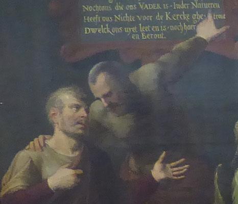 De oudste zonen - Uitsnede van foto van 'Het Raadsel (van Nijmegen)' - Museum Het Valkhof Nijmegen