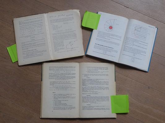 Augustus 2020 - de middelbare schoolboeken komen op tafel