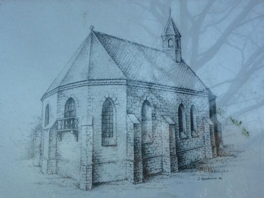 Reconstructie van de Sint-Gertrudiskapel