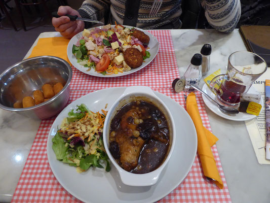Doornik - Restaurant L'Impératrice - Lapin à la Tournaisienne