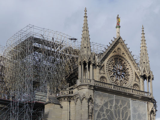 Parijs - 28 april 2019 - Notre-Dame de Paris