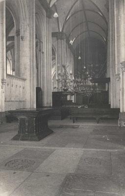 Stevenskerk - graftombe van Catharina van Bourbon - Regionaal Archief Nijmegen - Publiek Domein - F34490 - 1936