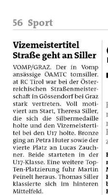 Bezirksblatt Schwaz