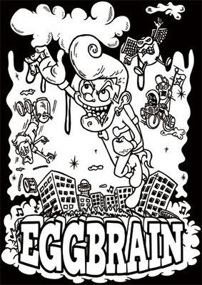 "EGGBRAIN ""THE NEXT 20-MILE CLOUD""ツアーTシャツ"