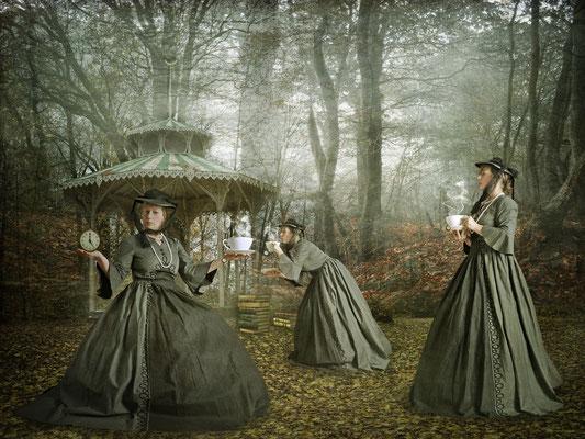 Five O'Clock Tea mit den Brontë-Schwestern