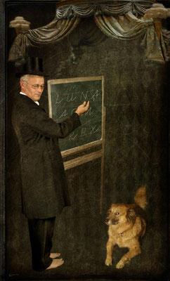 Herr Kackschiss und sein buchstabierender Hund Luna