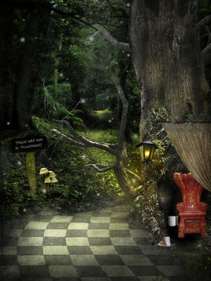 Toilettengang im Wunderland - Der ganze Tee muss ja irgendwo wieder hin. ;-)