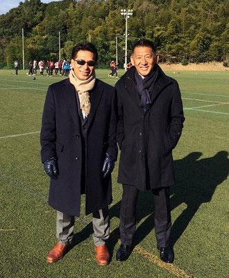岩本理事長をはじめ福岡外語専門学校の職員の方々には大変お世話になりました。