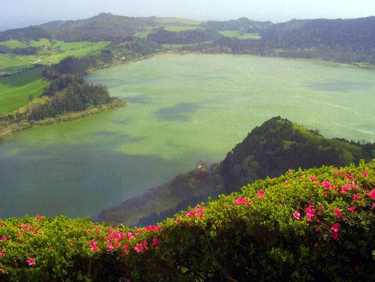 Azoren Kratersee
