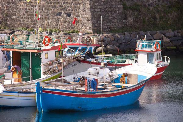 Fischerboot Azoren