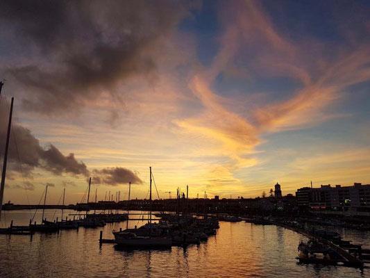 Abendstimmung Azoreninsel