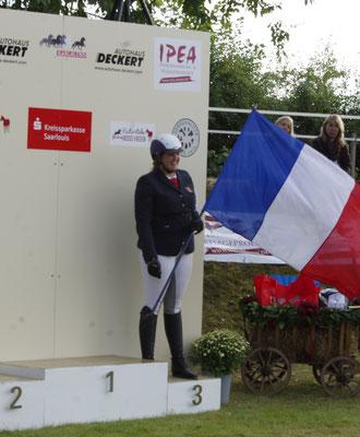 Charlotta Gripenstam, 3ème à l'épreuve V2- 4 allures