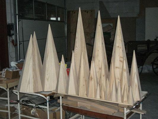 Zuckertüte  Holz  Piela