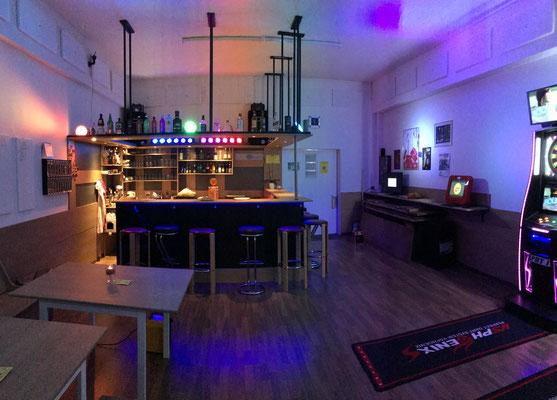 Bar und Eingangsbereich