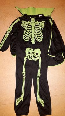 Kinderkostüm- Skeletkostüm, Fr,19.-