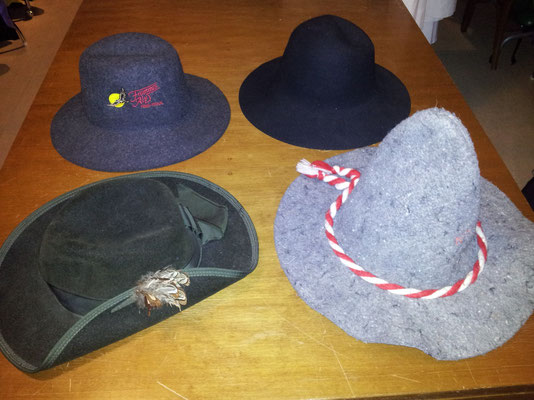 Diverse Hüte, Fr. 5.50 / Fr. 7.-