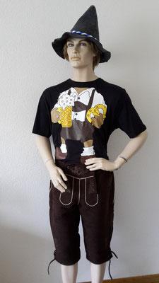 Bayer-Shirt, Gr. XL, Fr. 7.-, Hut Fr. 7.-