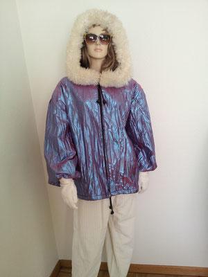 Eiszeit, warme Jacke mit Kaputze + Hose, Gr. M/L, Fr. 29.-