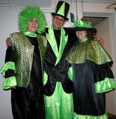 bunte, lustige kostüme