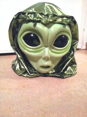 ALIEN/ET-Maske, sehr bequem und gute Sicht, Fr. 10.-